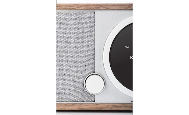 Tivoli Model One® Digital Walnut/Gray - volume control detail