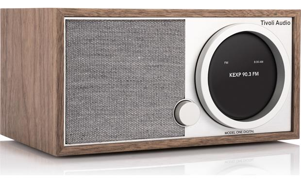 Tivoli Model One® Digital Walnut/Gray - left front