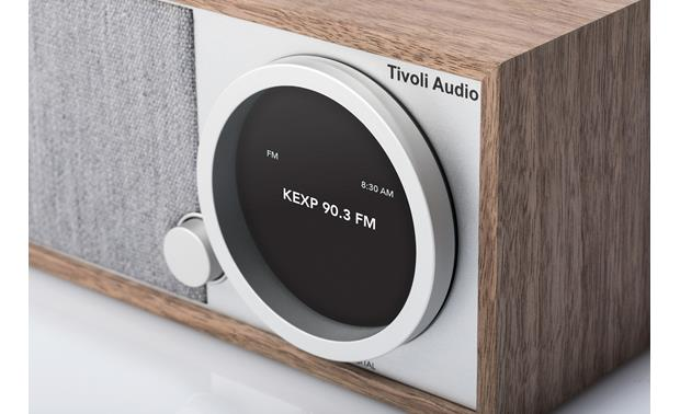 Tivoli Model One® Digital Walnut/Gray - display detail