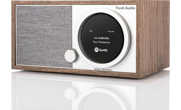 Tivoli Model One® Digital Walnut/Gray - right front
