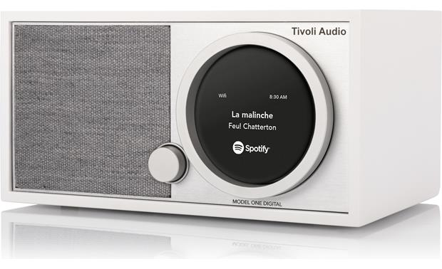 Tivoli Model One® Digital White/Gray - right front
