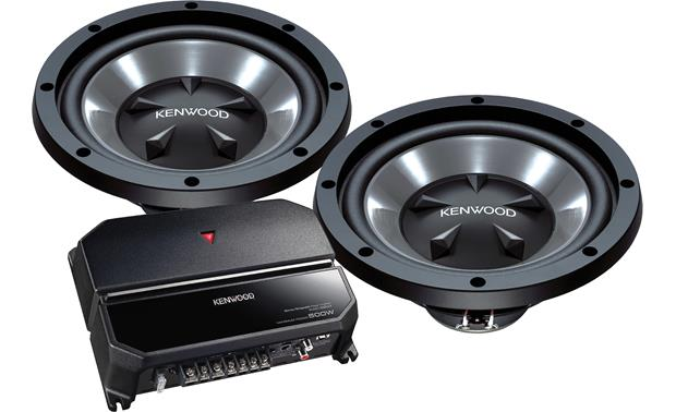 Kenwood P-W1221 170-watt Bass Package Front