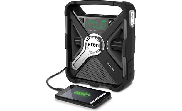 Eton FRX5-BT Can recharge smartphone or tablet (smartphone not included)