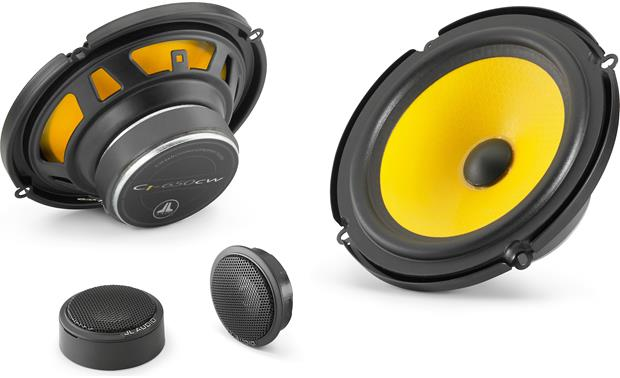JL Audio C1-650 Step up from factory sound with JL Audio's vibrant C1 Series.
