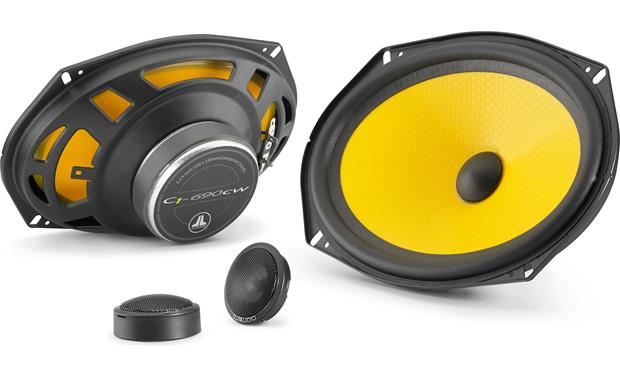 JL Audio C1-690 Step up from factory sound with JL Audio's vibrant C1 Series.