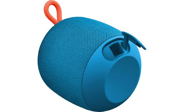 Ultimate Ears WONDERBOOM Subzero Blue - with connection seal open