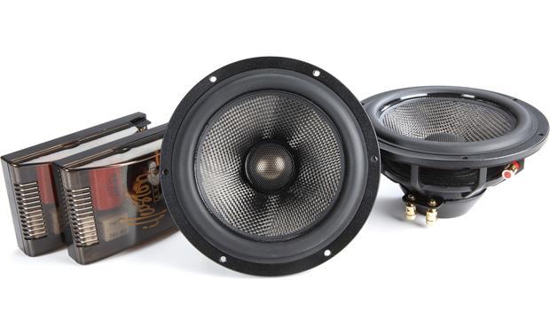 illusion audio carbon c6 cx 6 1 2 2 way car speakers at crutchfield com rh crutchfield com