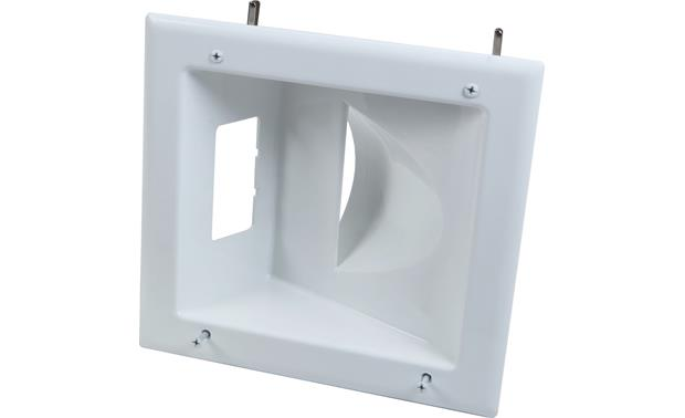 Metra ethereal Recessed Low-Voltage Media Plate Front