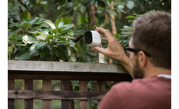 Arlo Pro Home Security Camera System Can be mounted outdoors