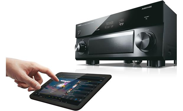Yamaha AVENTAGE RX-A2070 Control your system with Yamaha's free AV Controller app for Apple and Android
