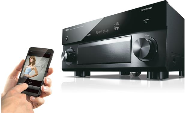 Yamaha AVENTAGE RX-A2070 Built-in Bluetooth lets you stream music wirelessly from a compatible device
