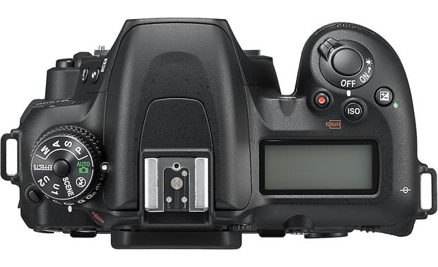 Nikon D7500 Kit Top, no lens attached