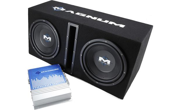 MTX Magnum Audio MB210SP Magna Bass Package Front