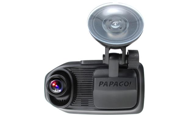 PAPAGO GoSafe 760 PAPAGO gives you split-screen viewing of your front- and rear-view cams.