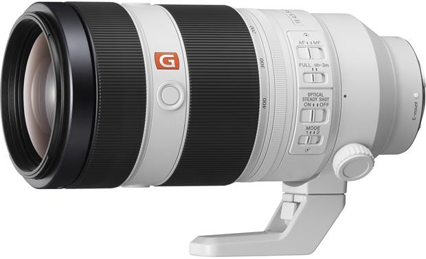 Sony Alpha FE 100-400mm f/4.5-5.6 GM OSS Front