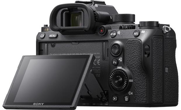 Sony Alpha a9 (no lens included) Shown with touchscreen tilted up