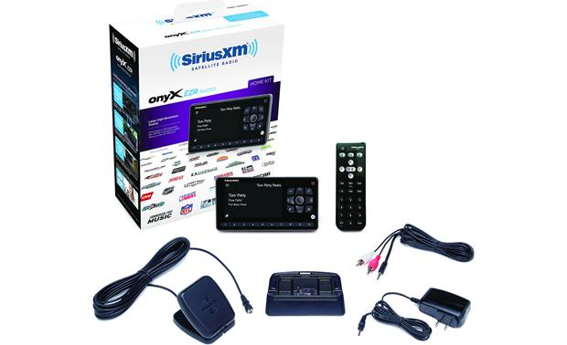 SiriusXM Onyx EZR & SXSD2 Package Complete home kit