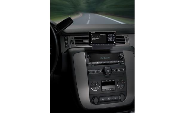 SiriusXM Onyx EZR Mount it wherever's best for you