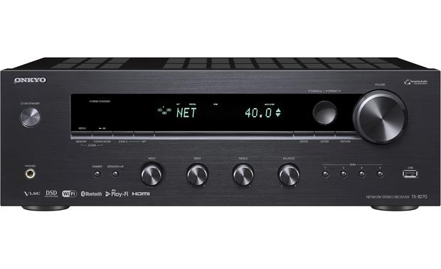 Onkyo TX-8270 Stereo receiver with HDMI connections, Wi-Fi®, and ...