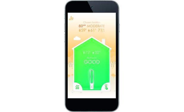 Dyson Pure Cool Link™ Get detailed air quality reports on your phone via the free Dyson Link app