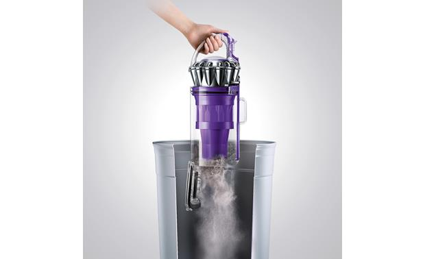 Dyson Ball Animal 2 Convenient quick-release emptying keeps your hands clean