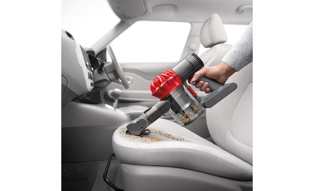 Dyson V6 Car+Boat Your car's seats will thank you
