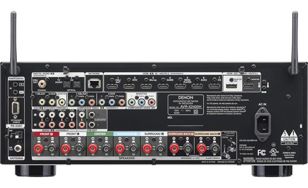 Denon AVR-X2400H IN-Command Back