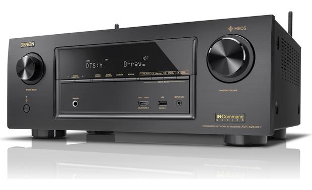 Denon AVR-X2400H IN-Command Angled front view