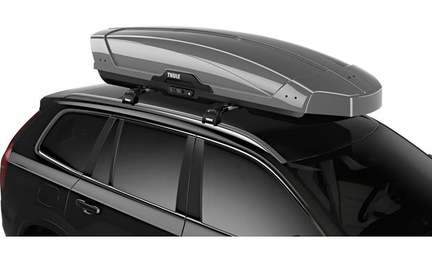 Thule Motion Xt Rooftop Cargo Carrier Xxl Titan Glossy Available In 4 Sizes And 3 Colors At Crutchfield