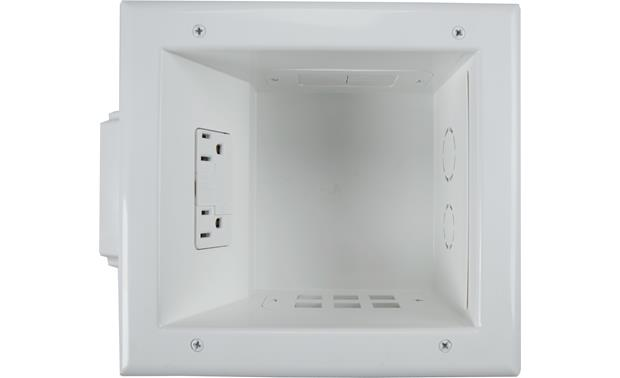 Metra ethereal Recessed Media Box II Surge Supressor Front