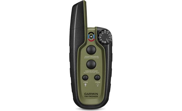 Garmin Sport PRO™ The intuitive four-button remote lets you correct your dog from up to 3/4-mile away