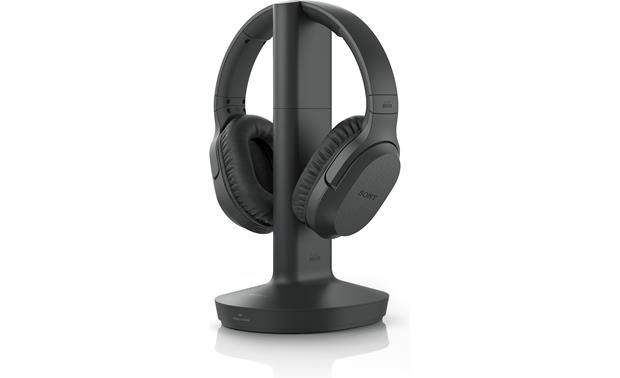 Sony MDR-RF995RK The transmitter connects to your TV's headphone jack and sends audio wirelessly to the headset