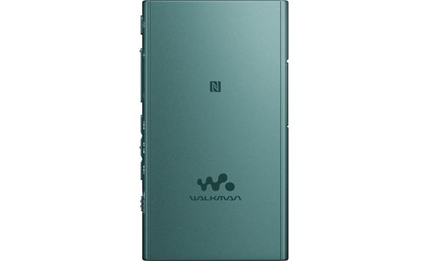 Sony NW-A35 Walkman® Viridian Blue - back