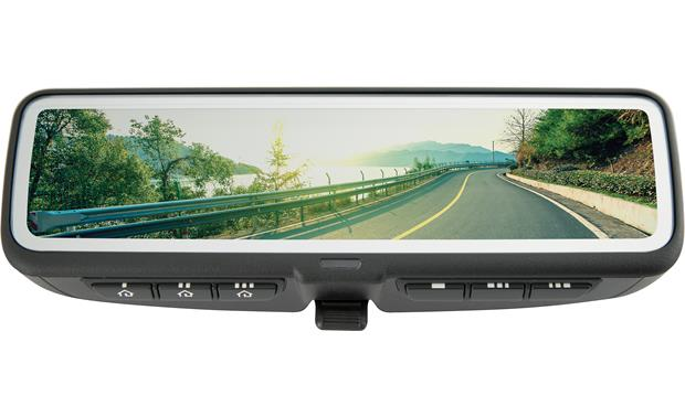 Gentex ADVGENFDMHL1 This replacement rear-view mirror doubles as a full-screen monitor for viewing video from the included rear-view camera.
