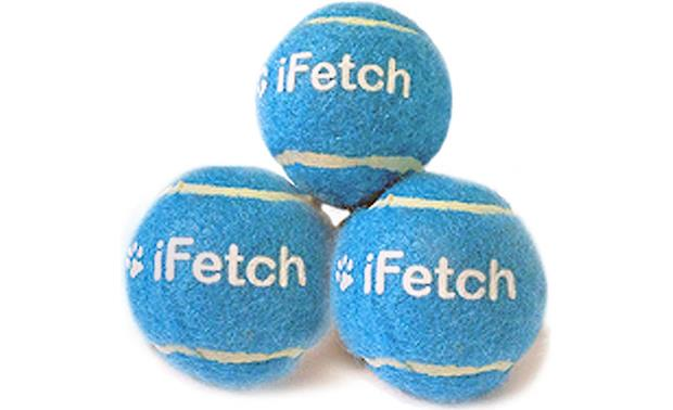 iFetch Standard-sized Tennis Balls Front