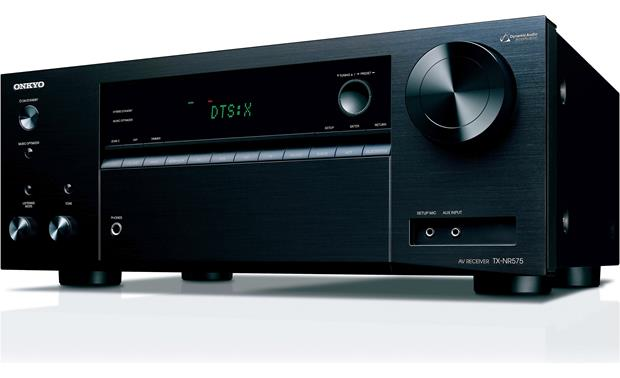 Onkyo TX-NR575 Angled front view