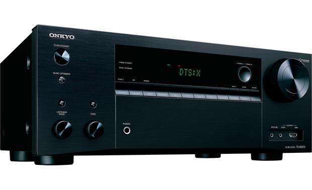 Onkyo TX-NR676 Angled front view