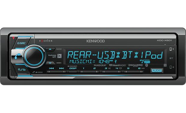 Kenwood Excelon KDC-X501 This Excelon receiver delivers great sound to go along with all its music choices