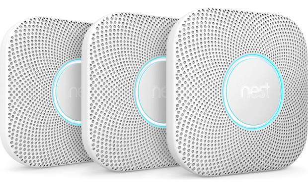 Nest Protect 3-pack (2nd Generation) Front