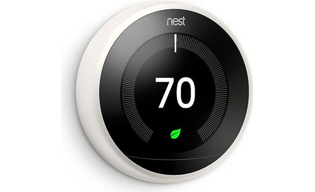 Nest Learning Thermostat, 3rd Generation Large display is easy to read