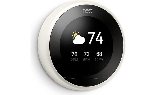 Nest Learning Thermostat, 3rd Generation Know the outside weather before you leave the house