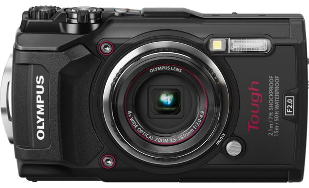Olympus Tough Series TG-5 Front, straight-on