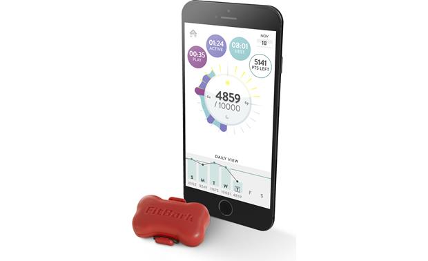 FitBark Activity Monitor Track your pet's progress over time