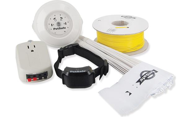 PetSafe YardMax® In-Ground Fence Shown with included accessories