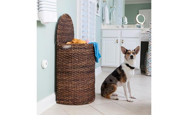 PetSafe Pawz Away® Mini Add-A-Barrier Place the transmitter near objects you don't want your pet to disturb