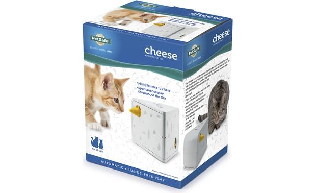 PetSafe Cheese Cat Toy Packaging