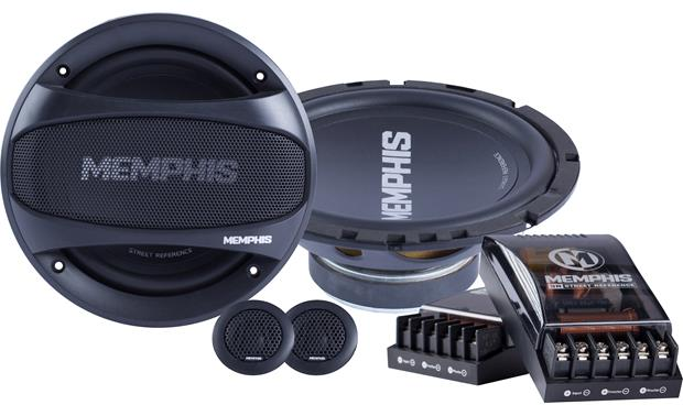 Memphis Audio 15-SRX60C Treat yourself to satisfying component sound.