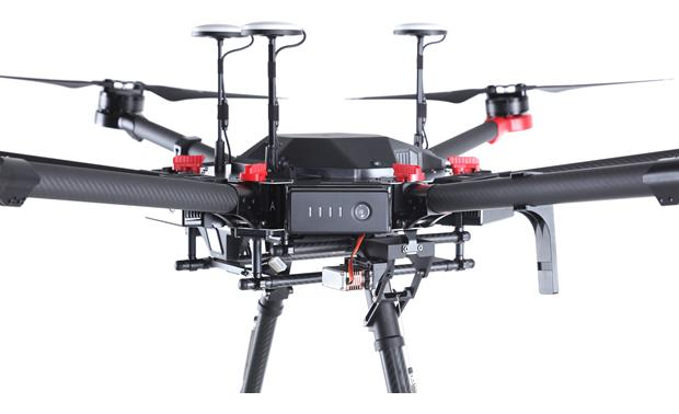 DJI Matrice 600 Pro Hexacopter Six included intelligent flight batteries keep you in the air longer