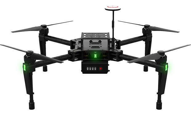 DJI Matrice 100 Quadcopter Front