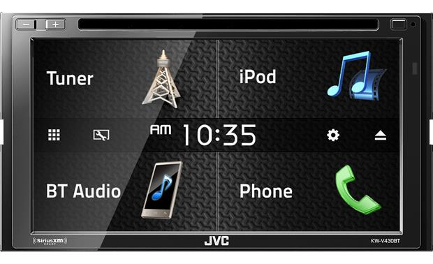 JVC KW-V430BT The ultra-clear 6.8